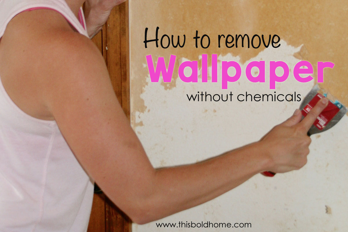 How to remove wallpaper strip are also